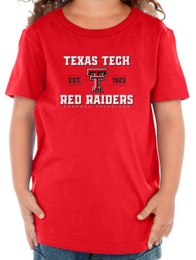 Texas Tech Red Raiders Toddler Tee Shirt - Red Raiders Est 1923