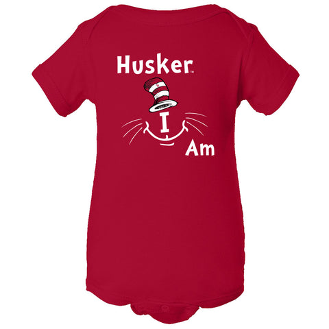 "Nebraska Cornhuskers ""Husker I Am"" Infant Onesie"