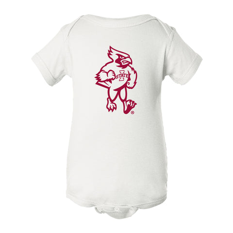 Iowa State Cyclones Infant Onesie - Cy The ISU Cyclones Mascot Full Body