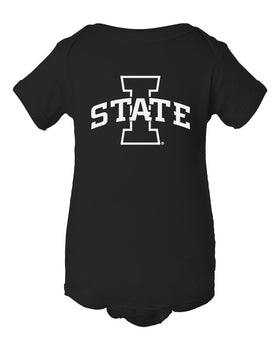 Iowa State Cyclones Infant Onesie - I-State Primary Logo Blackout
