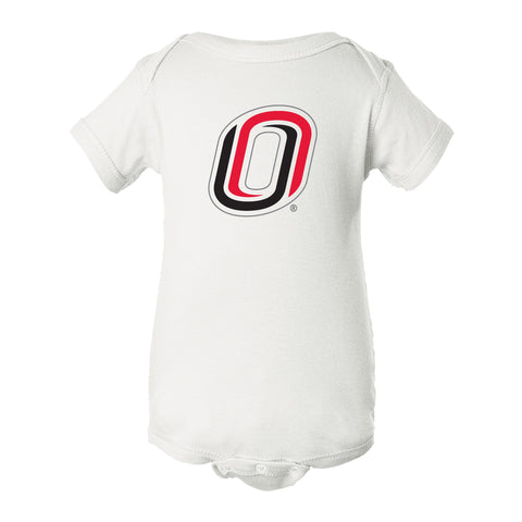 Omaha Mavericks Infant Onesie - Trademarked O Logo - UNO Mavs