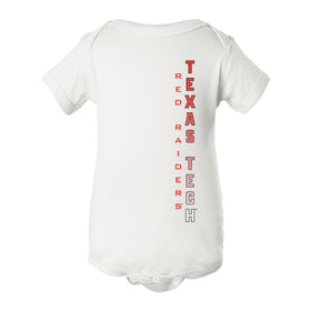 Texas Tech Red Raiders Infant Onesie - Vertical Texas Tech Fade