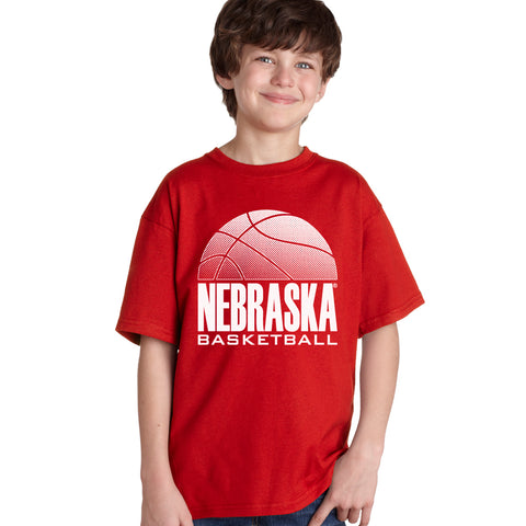 Nebraska Huskers Boys Tee Shirt - Nebraska Basketball