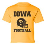 Iowa Hawkeyes Boys Tee Shirt - Iowa Football Helmet