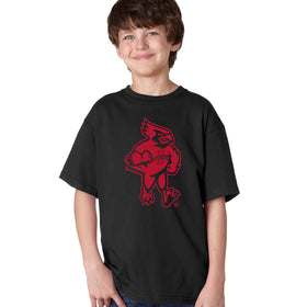 Iowa State Cyclones Boys Tee Shirt - Mascot Cy Full Body