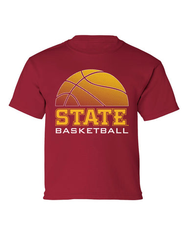 Iowa State Cyclones Boys Tee Shirt - ISU Basketball