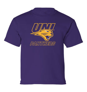 Northern Iowa Panthers Boys Tee Shirt - UNI Power Logo