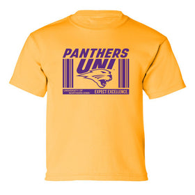 Northern Iowa Panthers Boys Tee Shirt - UNI Expect Excellence