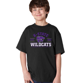 K-State Wildcats Boys Tee Shirt - Arch K-State Wildcats EST 1863