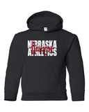 "Nebraska Athletics Legacy Script ""Huskers"" Youth Hooded Sweatshirt"