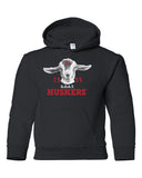 1995 Nebraska Huskers G.O.A.T. (Greatest of all Time) Youth Hooded Sweatshirt