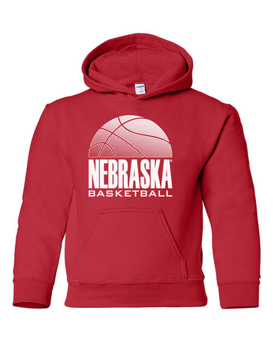 Nebraska Huskers Youth Hooded Sweatshirt - Nebraska Basketball