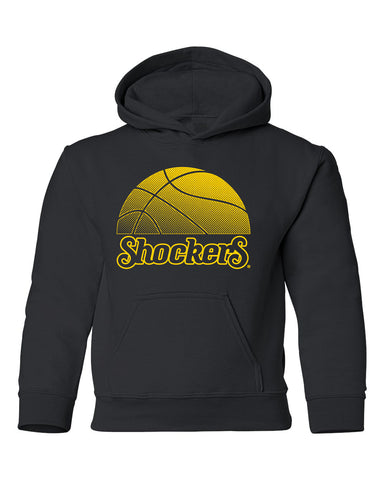 Wichita State Shockers Youth Hooded Sweatshirt - WSU Shockers Basketball