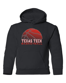 Texas Tech Red Raiders Youth Hooded Sweatshirt - Red Raiders Basketball