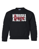 "Nebraska Athletics Legacy Script ""Huskers"" Youth Crewneck Sweatshirt"