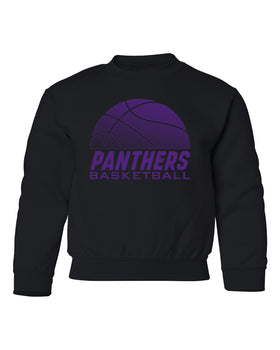 Northern Iowa Panthers Youth Crewneck Sweatshirt - Panthers Basketball