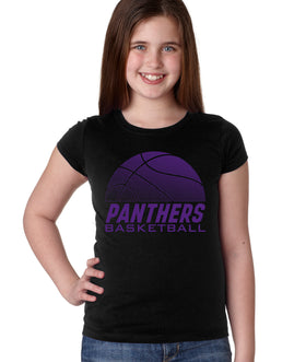 Northern Iowa Panthers Girls Tee Shirt - Panthers Basketball