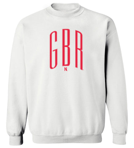 Women's Nebraska Huskers Crewneck Sweatshirt - Giant Red GBR