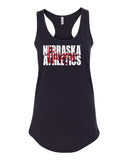 "Women's Nebraska Athletics Legacy Script ""Huskers"" Racerback Tank Top"