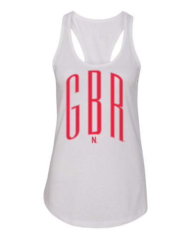 Women's Nebraska Huskers Tank Top - Red GBR