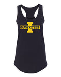 Women's Iowa Hawkeyes Tank Top - Block I with HAWKEYES