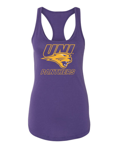 Women's Northern Iowa Panthers Tank Top - UNI Power Logo