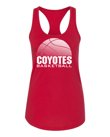 Women's South Dakota Coyotes Tank Top - Coyotes Basketball