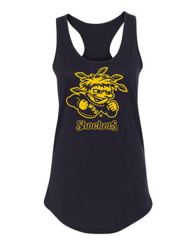 Women's Wichita State Shockers Tank Top - WuShock Logo