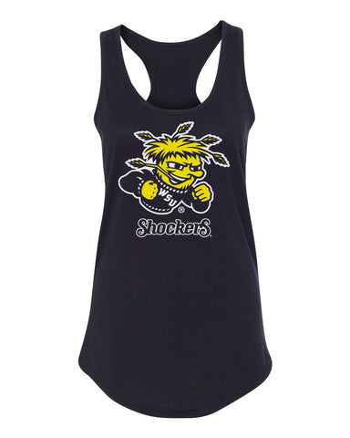 Women's Wichita State Shockers Tank Top - Wu Shock Shockers