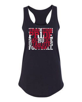 Women's Utah Utes Tank Top - Utah Utes Football Tradition