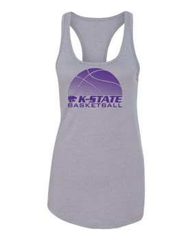 Women's K-State Wildcats Tank Top - K-State Basketball