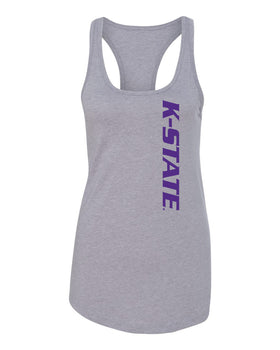 Women's K-State Wildcats Tank Top - K-State Vertical