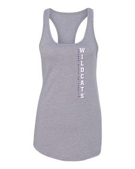 Women's K-State Wildcats Tank Top - Vertical KSU Wildcats