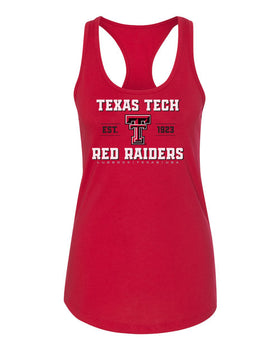 Women's Texas Tech Red Raiders Tank Top - Red Raiders Est 1923