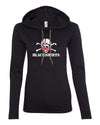 Women's Nebraska Huskers Football Blackshirts Logo Long Sleeve Hoody