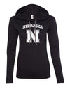 Women's Nebraska Cornhuskers Block N Long Sleeve Hoody