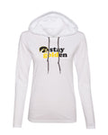 Women's Iowa Hawkeyes Long Sleeve Hooded Tee Shirt - Stay Golden