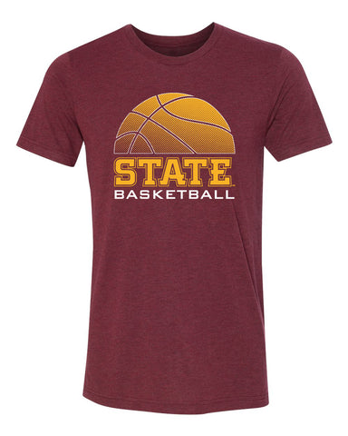 Women's Iowa State Cyclones Premium Tri-Blend Tee Shirt - ISU Basketball