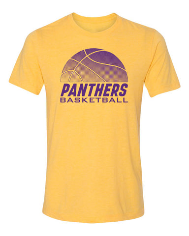 Women's Northern Iowa Panthers Premium Tri-Blend Tee Shirt - Panthers Basketball