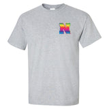 Nebraska Rainbow N Tee Shirt
