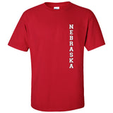 "Vertical ""NEBRASKA"" Tee Shirt"