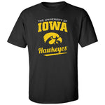 Iowa Hawkeyes Tee Shirt - The University Of Iowa Script Hawkeyes