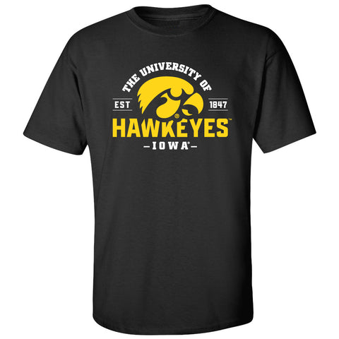 Iowa Hawkeyes Tee Shirt - The University of Iowa Hawkeyes EST 1847