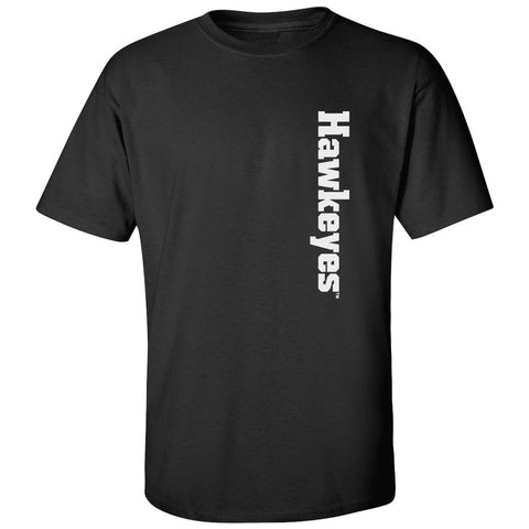 Iowa Hawkeyes Tee Shirt - Vertical Offset Hawkeyes