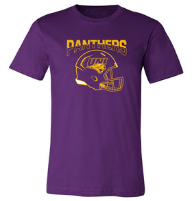 Northern Iowa Panthers Tee Shirt - UNI Panthers Helmet