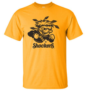 Wichita State Shockers Tee Shirt - WuShock Logo