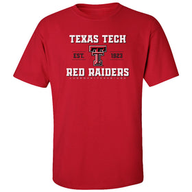 Texas Tech Red Raiders Tee Shirt - Red Raiders Est 1923