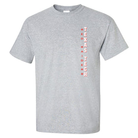 Texas Tech Red Raiders Tee Shirt - Vertical Texas Tech