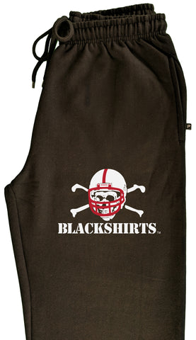 Premium University of Nebraska Football Blackshirts Logo Sweatpants