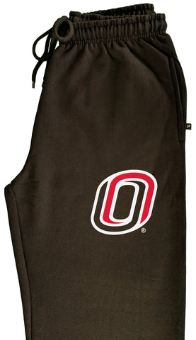 Omaha Mavericks Premium Fleece Sweatpants - Trademarked O Logo - UNO Mavs